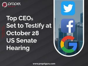 Top CEOs Set to Testify at October 28 US Senate Hearing