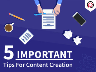 5 Important Tips For Content Marketing
