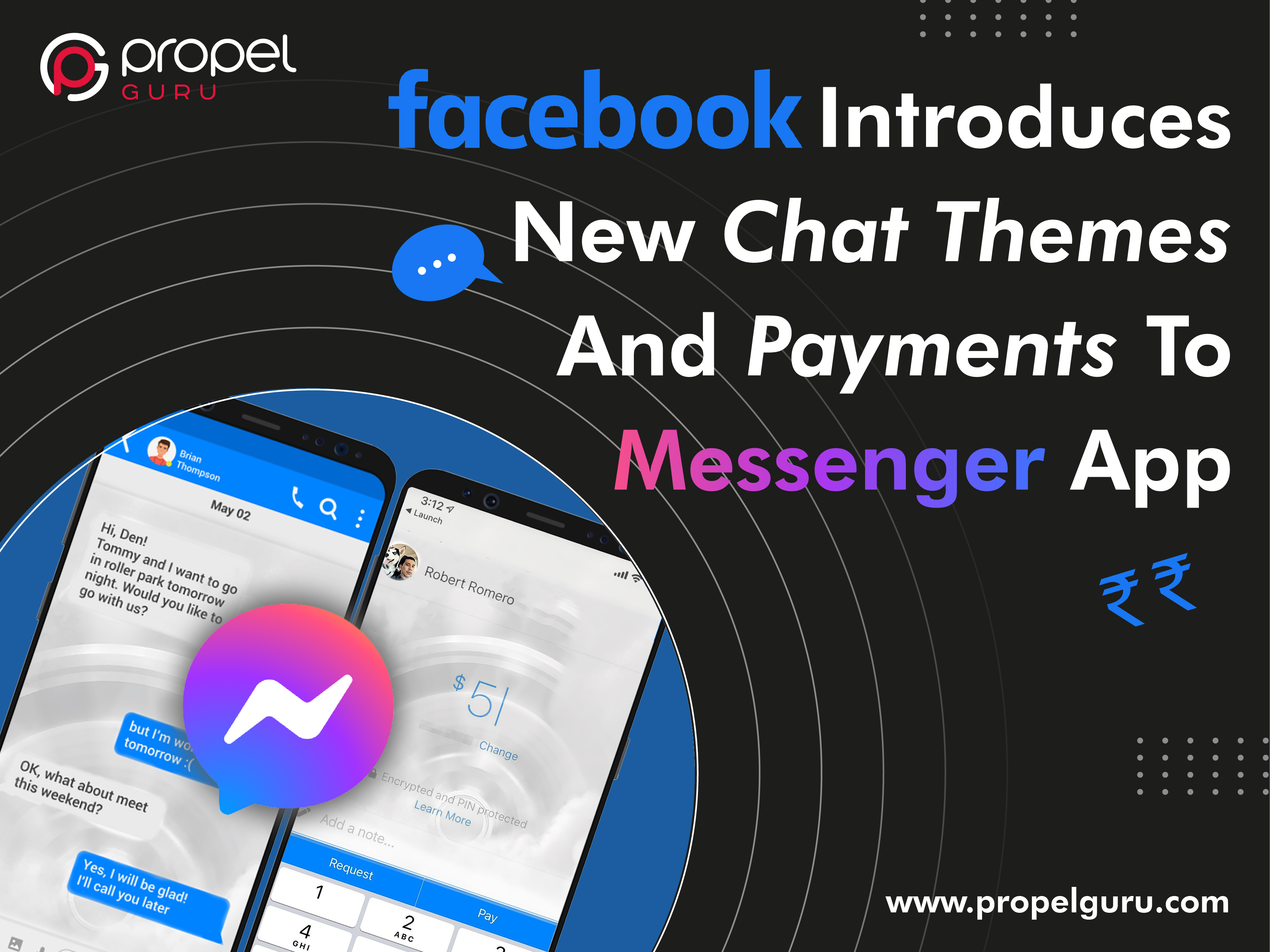 Facebook Introduces New Chat Themes And Payments To Messenger App